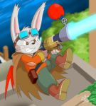 Moogle Gunner by Coshi-Dragonite