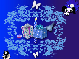Happy Birthday Wallpaper by WDWParksGal-Stock