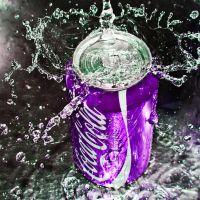 coca cola purple by SaphoPhotographics