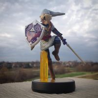 Fierce Diety Link Custom Amiibo by wendyrochelle