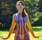 Hey Jude psychadelia 60s body paint close by Bodypaintingbycatdot