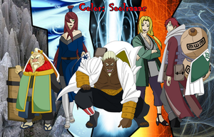 Los 5 kages by soolraaac