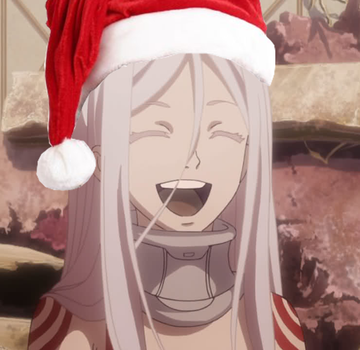 Santa Shiro by fireballlll0