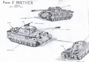 Panther Tank by mikopol