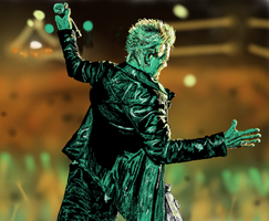 Thank you, Billy Idol by zahlenfreak