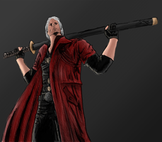 Dante - Devil May Cry by The-Great-Shiniku