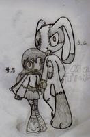 Mandy and Mr.Tick-Tock by SalemTheCat23