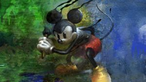 Epic Mickey Loading Wallpaper by Shortout