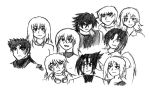 The Cast Sketch by Retzan