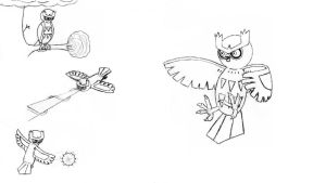 Swoop the Noctowl-lineart by Pingpongalong