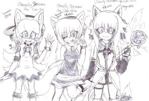 Vanny generations (? 1/3 by Kawaii-ShuMii