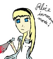 ALice when she was innocent by brianimerocks4life