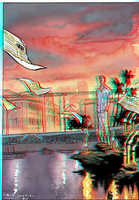 Daytripper in 3D Anaglyph by xmancyclops