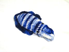 Mini Cuttlefish: Blue Stripes by Chromodoris