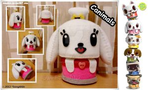 Canimals Plush by SongAhIn