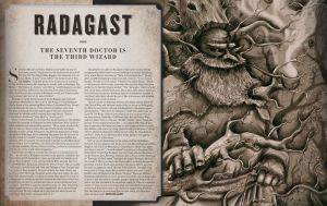 Radagast The Brown Editorial Illustration by MikeCoombsArt