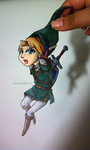 Link Paper Child by Saikeishi13
