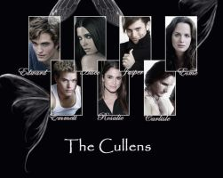 Cullen's Family by hellawess