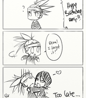 Happy Birthday Renji by BreizhyGlaw