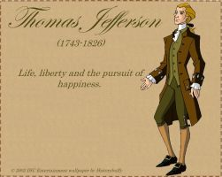 Thomas Jefferson Libertys Kids by Historybuffy