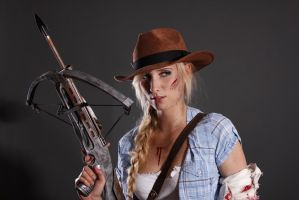 The Walking Dead - Stock 2 - Potrait by KaylaDavion
