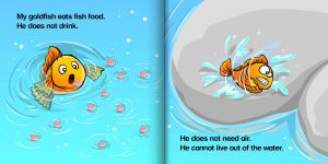 """""""Gold Fish"""" story by intrepica"""