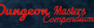 Dungeon Masters Compendium website header by AssanDracomorph