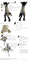 Crow Ref Sheet by SquidButler