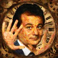 Bill Murray- Groundhog's Day by erikscanlon