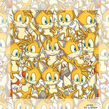Too many Tails... :3 by F1Cheese