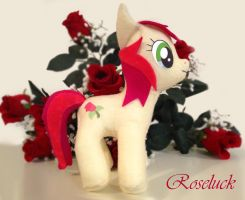 My Little Pony Rose Luck Custom Plush by aleena