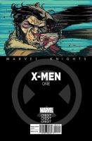 Marvel Knights Xmen 3 Cover by crispeter