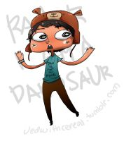 Rawr I'm a DANosaur by jedwithcereal