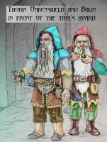 colour thorin and balin by hoviemon