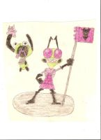 Invader Zim......Old-2008 by Terra-Fae-Odosson