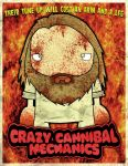 crazy cannibal dude by twistedandgifted