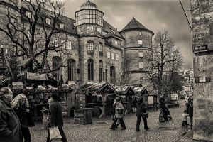 Somewhere in Stuttgart... by Serdar-T