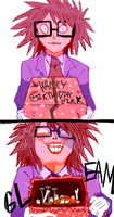 wish you a merry b irthday by monteGlover
