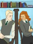 Library Lovers by vanshands