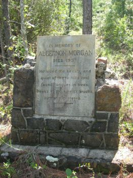 South August Monument in the Woods by Guardian-of-Worlds