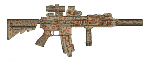 PMG DEVGRU-Inspired 416 by trooperbeta