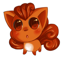 Vulpix by Pace-Eterna