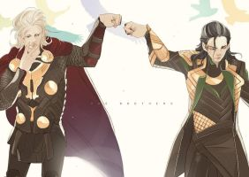 The brothers by sexyjelly