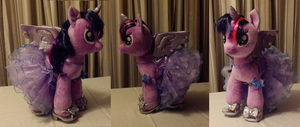 Twilight in Purple Dress by JaiYiKendra
