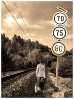 Train only pass once.. II by self-steem
