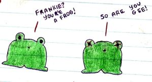 Gee and Frank Frogs for Sarah by Til-death-do-we-part