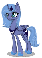Young princess Luna by KeryDarling