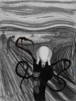 Slender - The Scream by Yuniegard