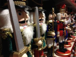 Row of Xmas Soldiers by MogieG123