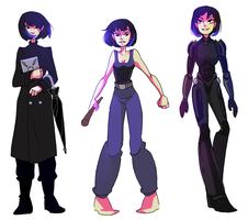 Mako outfits by meixx